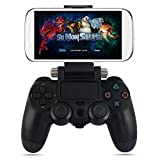 kingpo Gamepad - Soporte para Mando de Juegos (Compatible con PS4, Xbox One, S/Slim, Soporte retráctil)