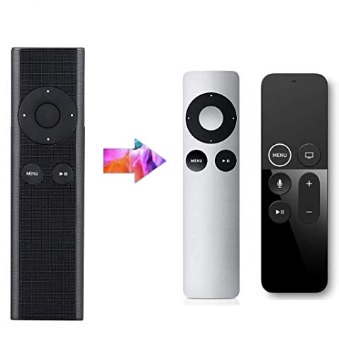 LuckyStar MC377LL/A Universal Replacement Remote Control fit for Apl 2/3/4k TV Box, Compatible with Mac/Music System/iPhone/iPad/iPod