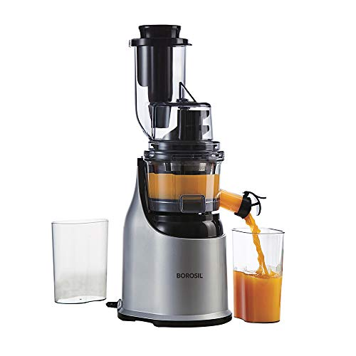 Borosil - Health Pro Cold Press Slow Juicer, 200W