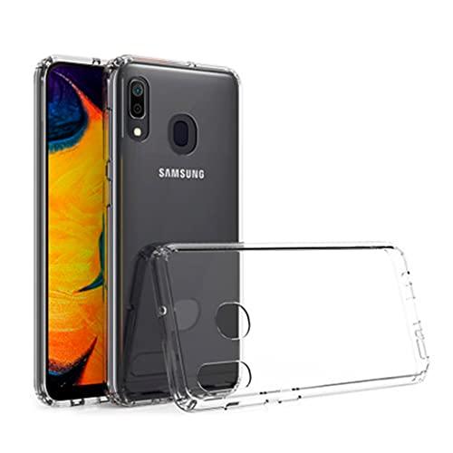 Funda Transparente TPU para Samsung Galaxy A40 [1,5 mm] Anti-amarillea. Carcasa Gel Silicona para Samsung Galaxy A40 con absorción de Golpes y antiarañazos.