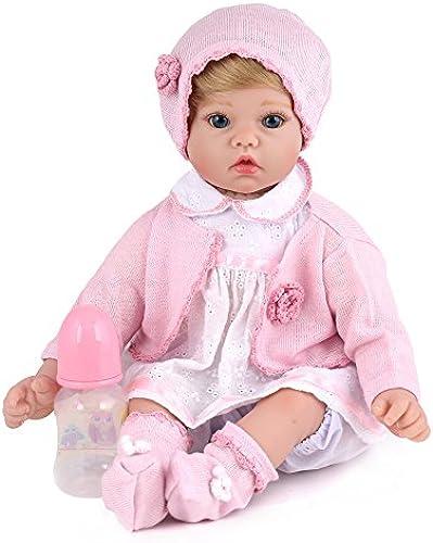 ATOYB Junges mädchen Wiedergeburt Simulation Baby Kreativ Geburtstagsgeschenk Silikon Spielzeug Realistische Babys Dummy