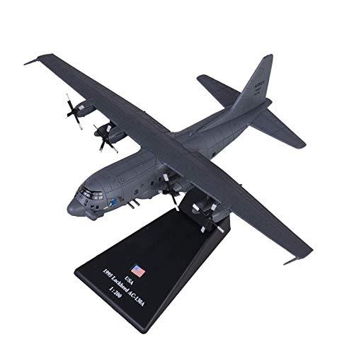 tytlmask Modelo De Avión 1/200 Escala Modelo Militar Juguetes Ac-130 Cañonera Ataque A Tierra Avión De Combate Diecast Metal Plano Modelo De Juguete para Niños Juguetes