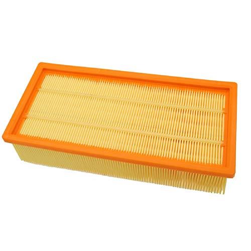 HAYATEC Flachfaltenfilter kompatibel mit Kärcher Mehrzwecksauger WD4 WD5 WD6 MV4 MV5 MV6 Nass-Trocken-Staubsauger...