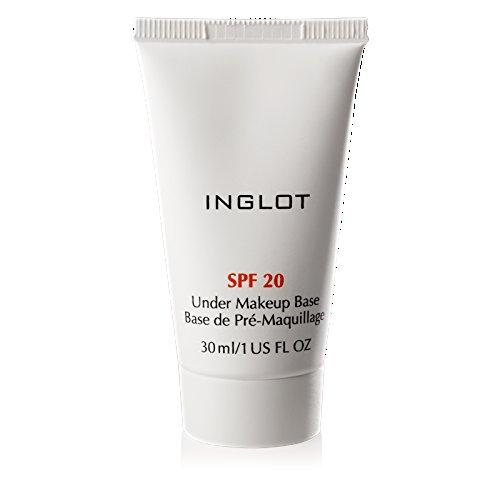 Inglot Makeup Base mit Lichtschutzfaktor 20 für alle Arten von Foundations, Pudern und Concealern oder auch allein verwendet werden SPF 20, 30 ml