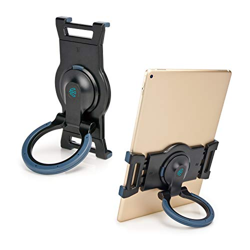 """EHO Portable Tablet Stand Grip Holder, Adjustable Rotating Stand Holder, Desk Mount Dock Compatible for Ipad, Ipad Air, Ipad Mini, Microsoft Surface, Nexus and 7.5-13"""" Tablets"""