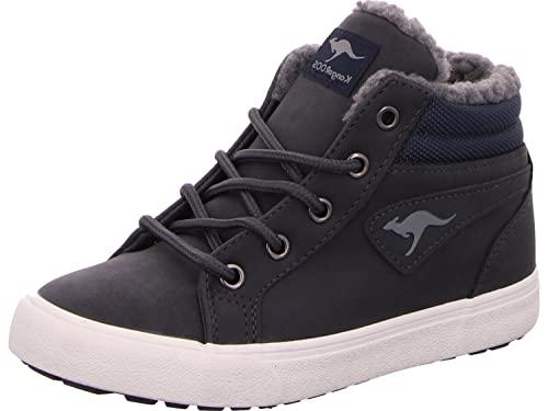 KangaROOS Unisex KAVU I Sneaker, dk Navy/White, 39 EU