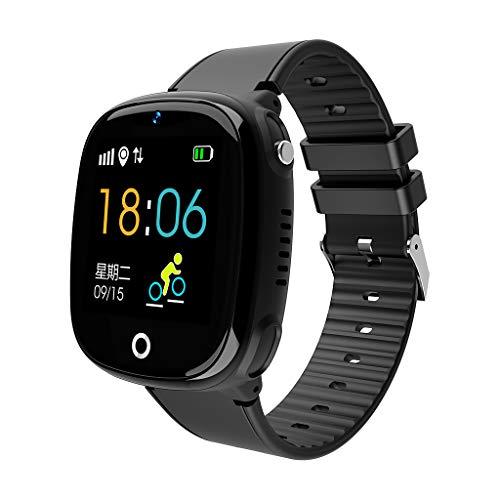 Smart Watch Health Fitness Tracker IP67 impermeable Smart Band GPS seguimiento SOS llamada podómetro smartwatch con cámara para niños niños