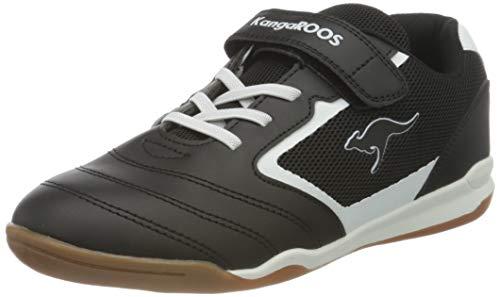 KangaROOS Unisex Race Comb EV Sneaker, Jet Black 5001, 35 EU