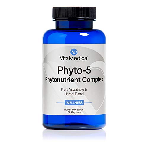 VitaMedica Phyto-5 for Healthy, Hydrated Skin Support, Anti-Aging Supplement 60 Capsules