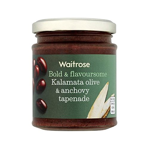 Tapenade Kalamata Deluxe Olive Jacksonville Mall Anchovy Waitrose 2 of 165g Pack -