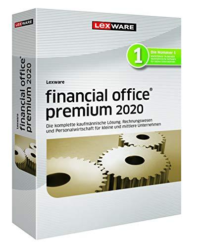 Lexware financial office 2020|premium-Version Minibox (Jahreslizenz)|Einfache kaufmännische Komplett-Lösung für Freiberufler, kleine und mittlere Unternehmen