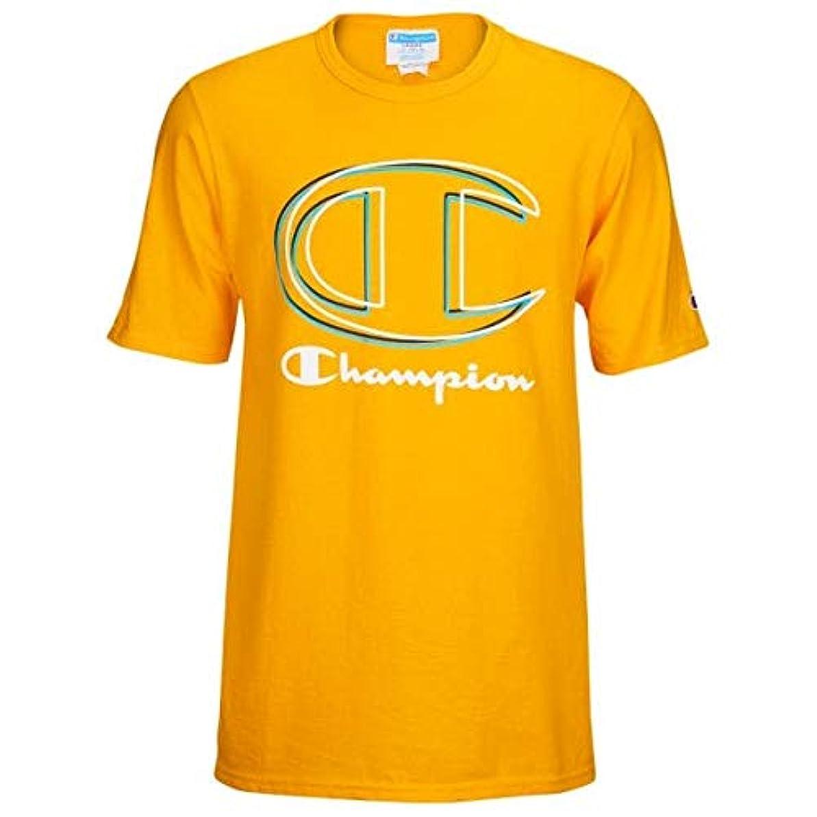 喪カウントアップ承認する(チャンピオン)Champion Graphic Short Sleeve T-Shirt メンズ Tシャツ [並行輸入品]