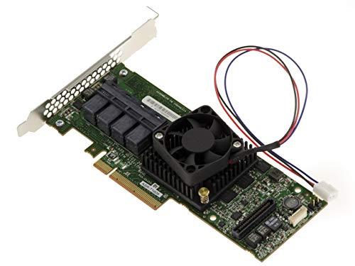 Kalea Informatique Controller-Karte PCIe 3.0 SAS + SATA – 6 GB – 16 interne Ports – Adaptec Raid 71605 – Raid 0 1 5 6 10 50 60 1E – Cache 1024 MB