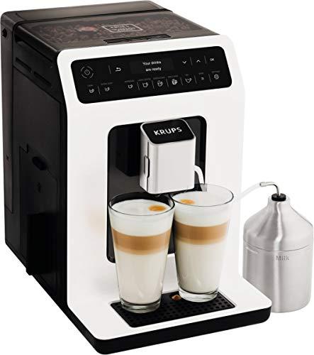 Krups Evidence EA8911 espressomachine, vrijstaand, 2,3 l, 2 kopjes, wit koffiezetapparaat