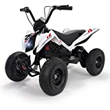 INJUSA - Quad X-Treme Zero 24V, color blanco (6025)