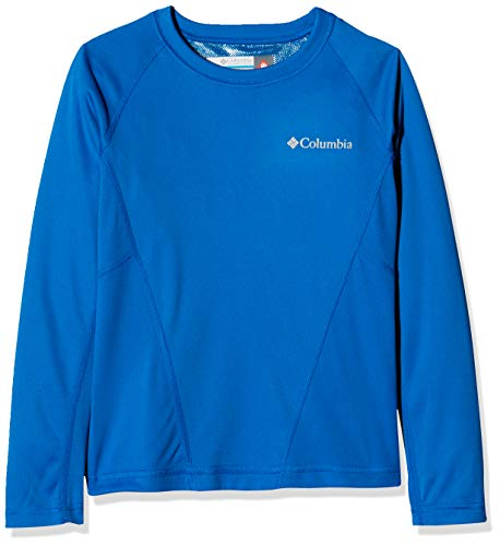Columbia Midweight Crew 2 Sweatshirt Mixte Enfant, Super Blue, FR : L (Taille Fabricant : L)
