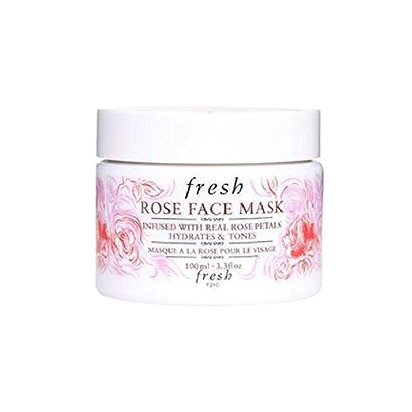 先史時代のレンダーそばにFresh (フレッシュ) 15周年記念限定版 Rose Face Mask ローズフェイスマスク-, 100ml /3.3 fl.oz [並行輸入品] [海外直送品]