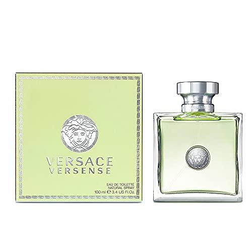 Perfume para Lady Girl para mujer Versace versense 100ml EDT 3,4Oz 100ml Eau de Toilette Spray Original