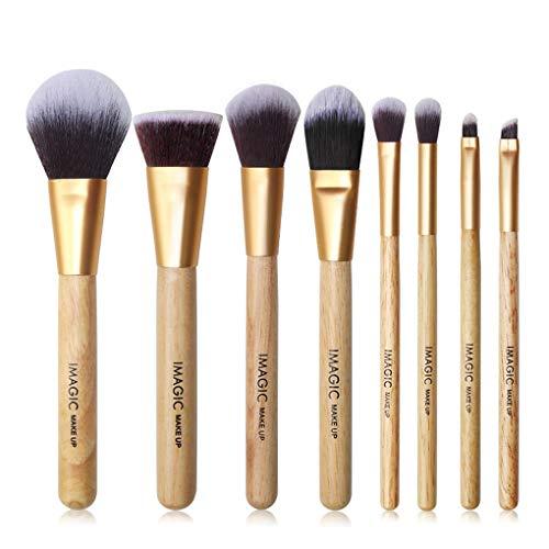 Rekkles IMAGIC 8PCS Teint Poudre Fards Sourcils Correcteur Brosse cosmétiques Kit Visage Coloring Uniformément Brosse de Maquillage