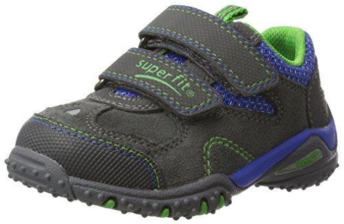 Superfit Baby Jungen SPORT4 Mini Sneaker, Grau (Stone Multi), 26 EU