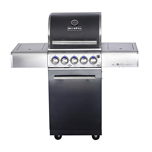 Allgrill Top-Line Chef S Black-Line Volledelstahl Gasgrill mit Air System