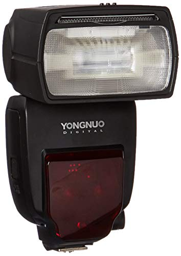 Yongnuo YN685C - Flash con Zapata (Receptor Interno, HSS, Zoom 200 mm, e-TTL, AA), Color Negro
