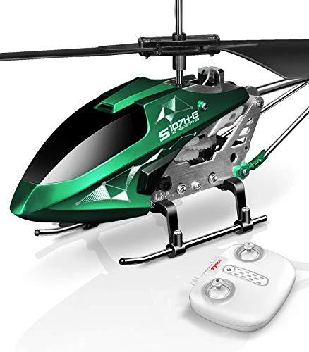SYMA Mini helicóptero teledirigido para interior, juguete teledirigido, avión, regalo para niños, 3,5 canales, 2,4 GHz, LED, giroscopio