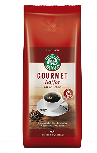 Lebensbaum Bio Gourmet Kaffee, 1 kg klassisch ganze Bohne