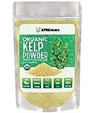 XPRS Nutra Organic Kelp Powder (Ascophyllum Nodosum) - Seaweed Powder Rich in Iodine, Immune Vitamins and Minerals - Food Grade Sea Kelp Supplement Superfood for Thyroid Support, Skin Health (4 oz)