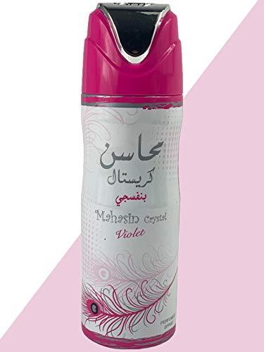 My Perfume, hermoso cristal de Mahasin, 200 ml, mujer, bergamota, trébol, violeta, árabe, regalo perfecto