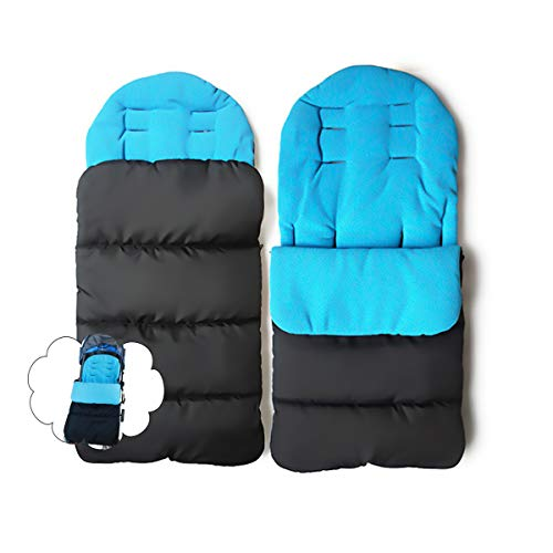 Jiele Kinderwagen Universal Fußsack Angenehm Warmes Toe Cover Winter Winddicht Wärme Schlafsack Baby Trolley Baumwolle Kissen Sitzauflage