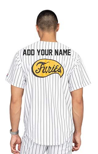The Warriors Furies Pinstriped Baseball Jersey