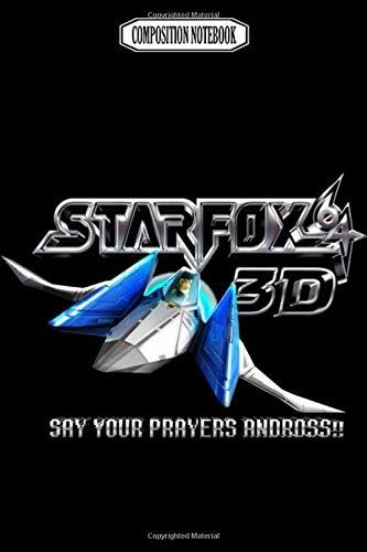 Composition Notebook: Star fox 3d consoles super lanyard gameboy handheld nintendo Journal...