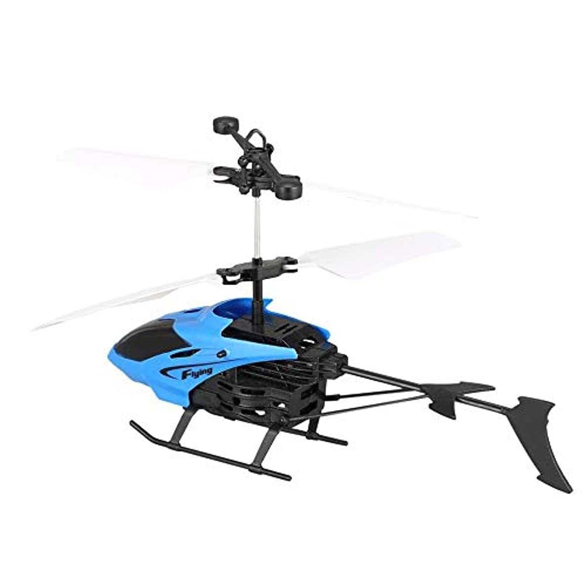 D715 RC Helicopter, D715 Flying Mini Infrared Induction RC Helicopter Drone Remote Control Aircraft with LED Flashing Light for Kids Toys Gift