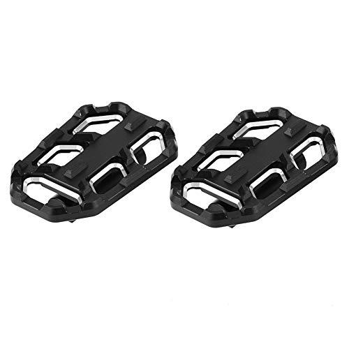 Motorfietsen voetsteunen pedalen motorfiets voetsteunen Billet Wide Foot Pedaal Rest voor G310R G310GS R1200GS LC S1000XR default zwart