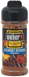 WEBER Grilling Seasoning GOURMET BURGER 6 oz.