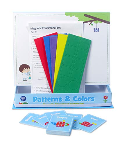 American Educational Products MAG-200 Patterns & Colors Magnetic Activity Set
