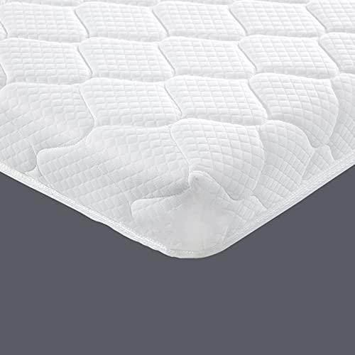 YUDEYU Niño Dedicado Colchón Palma Primavera Almohadilla para Dormir Espesar 12cm Moderado Suave Y Duro (Color : White, Size : 50x100cm)