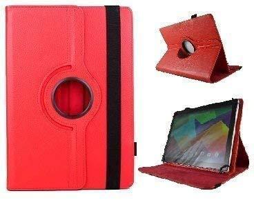 theoutlettablet Funda Giratoria 360º para Tablet MEBERRY 10 Pulgadas Tablets 10.1' - ROJA