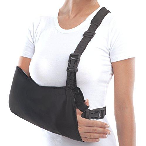 Cabestrillo de brazo; inmovilizador de hombro Medium Negro