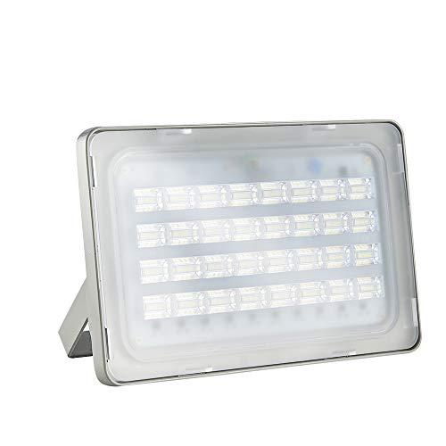 LED Strahler Außen 100W LED Beleuchtung 7000LM LED Lampe Scheinwerfer 5000K-6500K Kaltweiß IP65 Wasserdicht LED Strahler Außen für Hof Garten, Garage, Werbetafeln, Stadien, Plätze, Fabriken