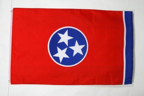 AZ FLAG Drapeau Tennessee 150x90cm - Drapeau Etat américain - USA - Etats-Unis 90 x 150 cm - Drapeaux