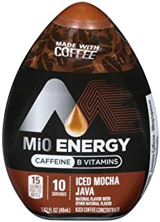 Mio Energy Coffee Concentrate Liquid Water Enhancer (Pack of 6)