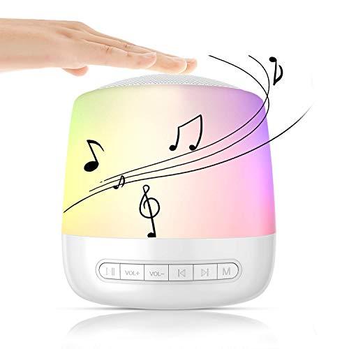 Macchina di Rumore Bianco, Macchina Portatile Rumore Bianco con 28 suoni rilassanti non-loop, luce notturna a LED, macchina portatile per terapia del suono per bambino/bambini/adulto/ufficio/viaggio
