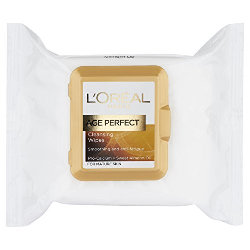 L'Oreal Age Perfect Cleansing Wipes for Mature Skin