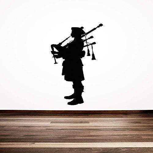 Kostuum Man Verwijderbare Muursticker Woonkamer Slaapkamer Sofa Achtergrond Muur 56X126Cm