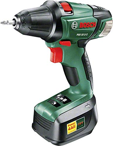 Bosch Home and Garden PSR 18 LI-2 accu-boormachine 18 V 2 Ah Li-Ion incl. accu