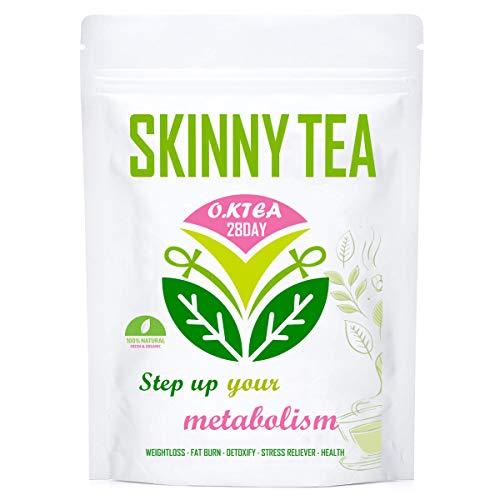 Detox Tea for Weight Loss, O.K Tea 28 Day Skinny Tea Body Detox Cleanse Diet Tea