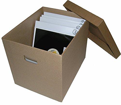 CUIDATUMUSICA Caja DE CARTÓN Solido Guardar 100-125