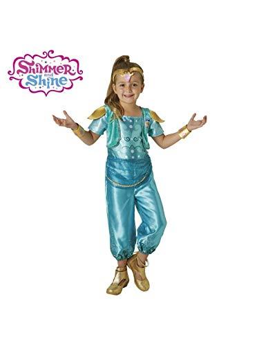 DISBACANAL Disfraz Shine de Shimmer and Shine niña - Único, 5-6 años